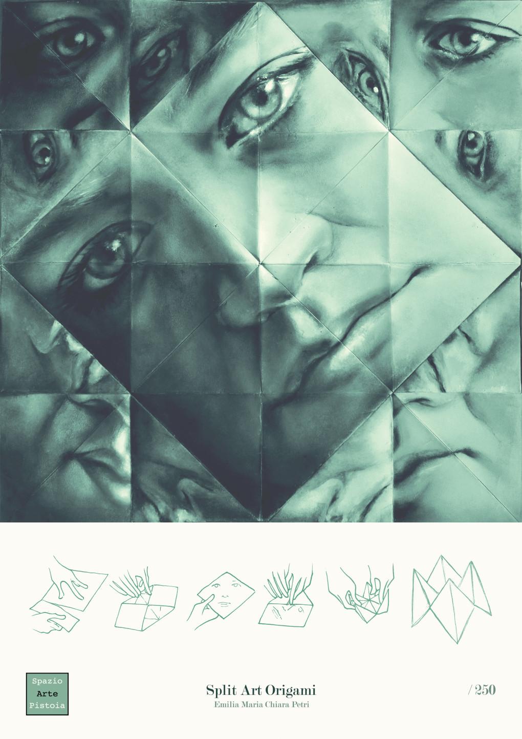 Split Art Origami - opera realizzata in collaborazione con Luca Genovese